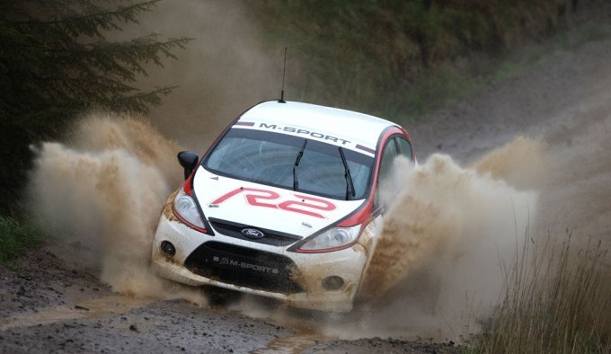 Through the mud and rain - Ford Fiesta R2