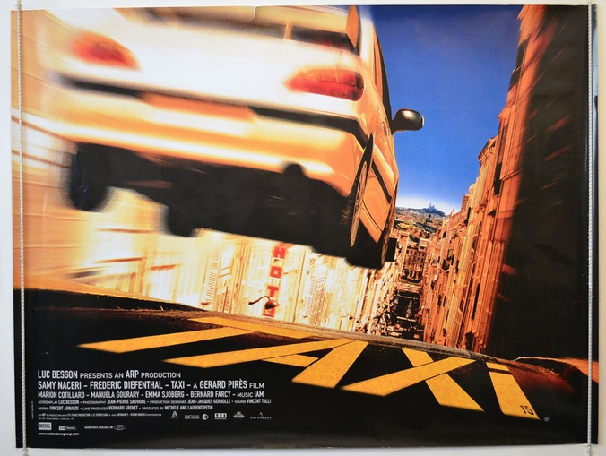 Taxi : Cinema Quad Movie Poster