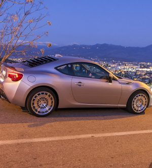 Running around... Toyota GT86
