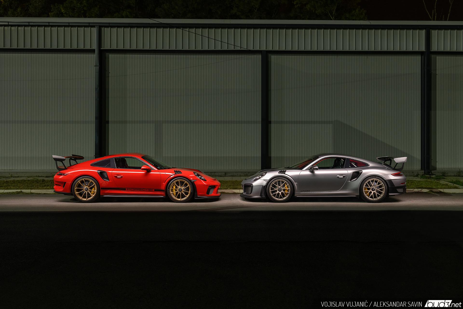 Endorfin na daljinu - Porsche GT2 RS i GT3 RS
