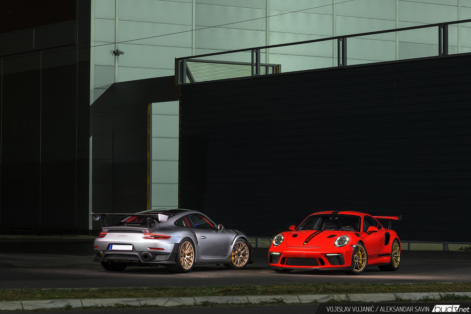 Porsche GT2 RS GT3 RS - Endorfin na daljinu