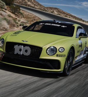 Bentley i Pikes Peak