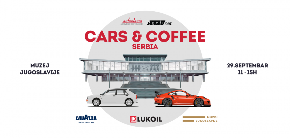 Najava za Cars & Coffee Serbia