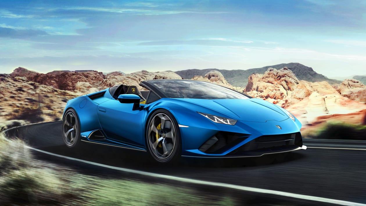 Ekzotični predator - Lamborghini Huracan EVO RWD Spyder
