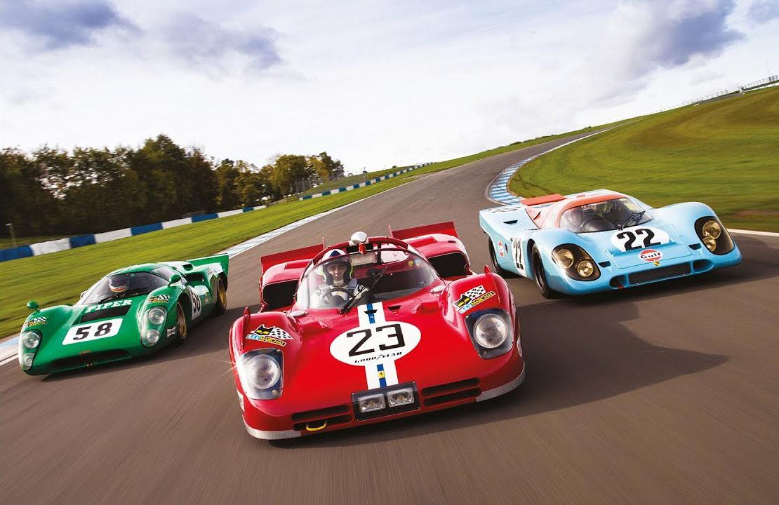 Tri ratna havera - Porsche 917, Ferrari 512S i Lola T70